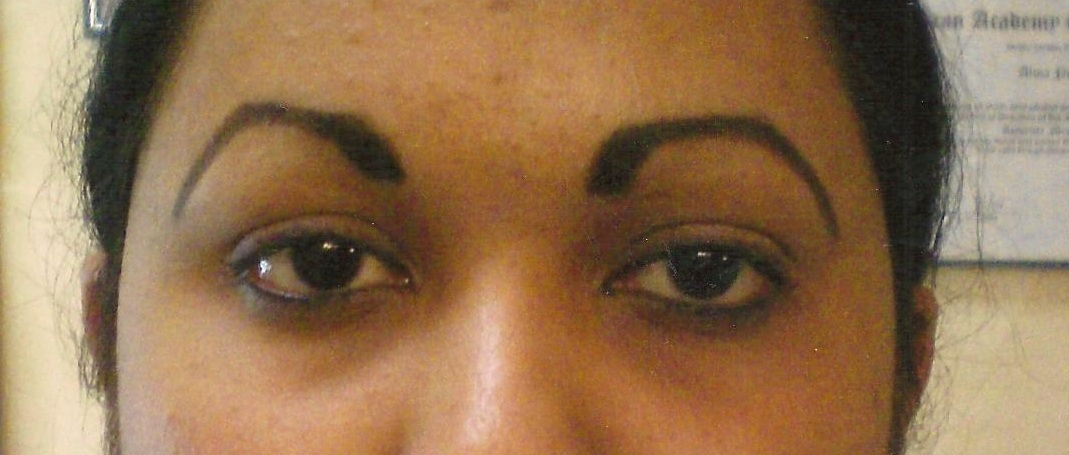 Permanent Makeup Before And After Eyebrows Makeup Daily
